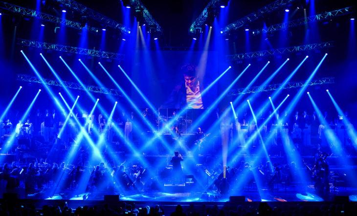 Rock symphony, Палац Україна,