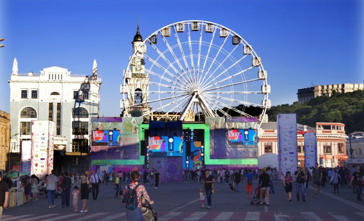 Київский бал на Контрактовій площі
